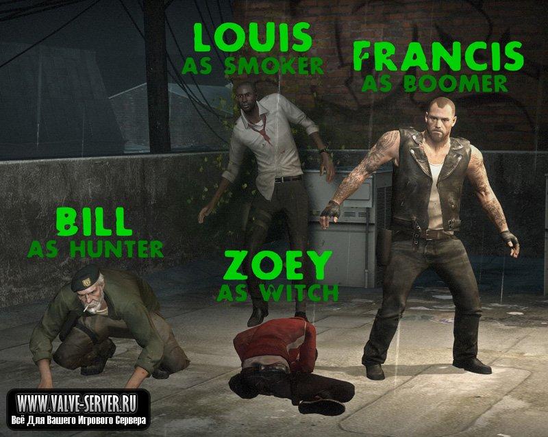 скачать игру про зомби Left 4 Dead 3 - фото 3
