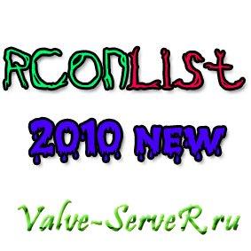 RCONList 2010 NEW