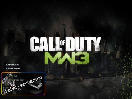 Фон игры Call of Duty: Modern Warfare 3 для CSS