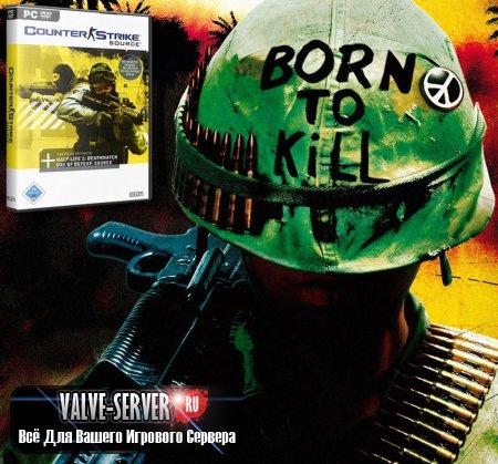 Counter-Strike: Source v84 (Вьетнам мод) + Автообновление